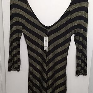 Bebe 3/4 sleeve dress